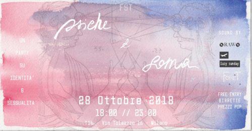 Psiche & Soma: party su identità e sessualità