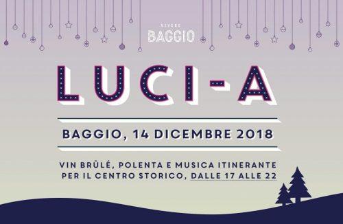 Luci-a: vin brulè, polenta e zampognari a Baggio Vecchia
