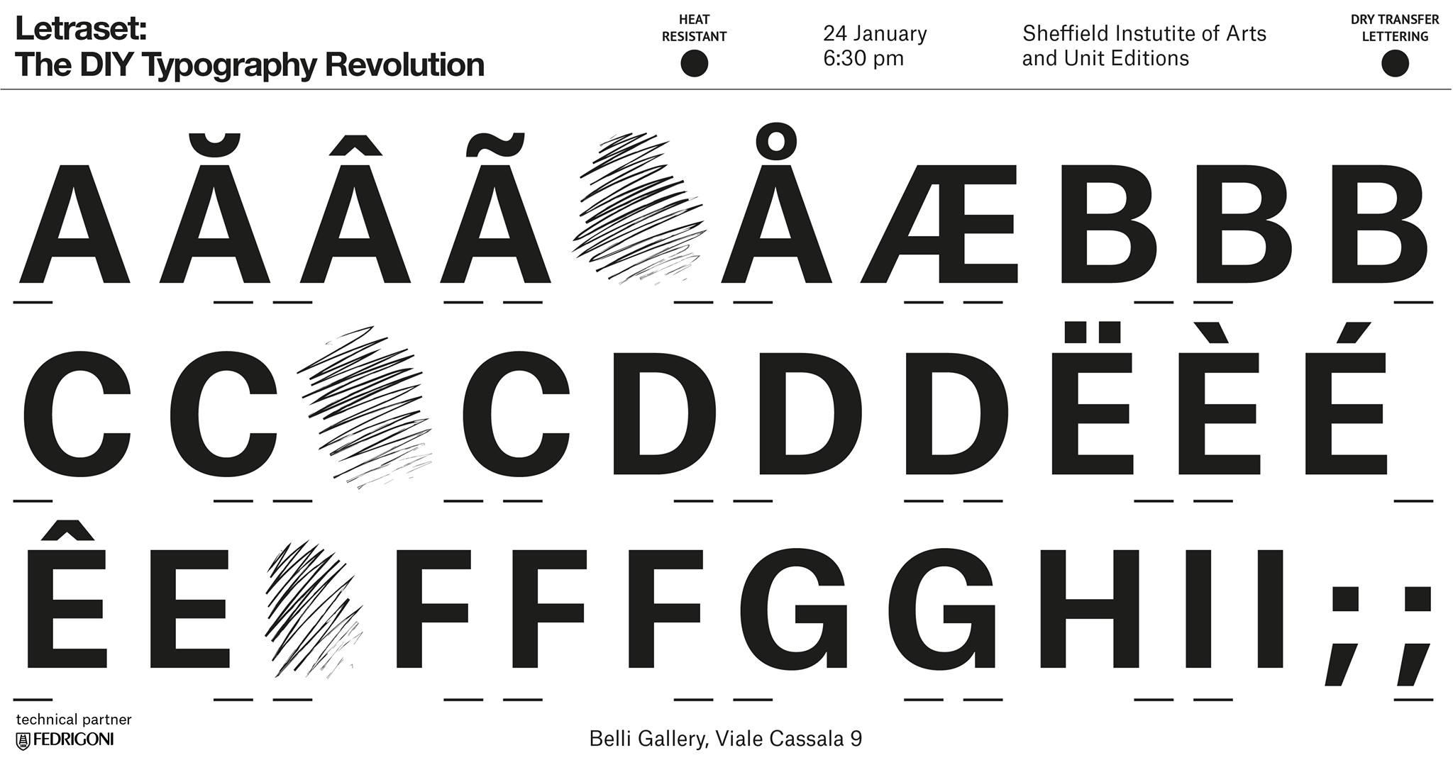 Trasferelli e tipografia da Belli Gallery
