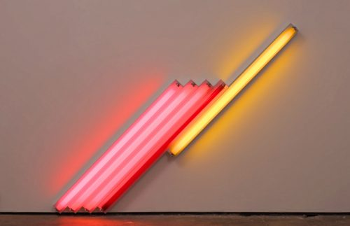 I neon di Dan Flavin in mostra gratis da Cardi Gallery