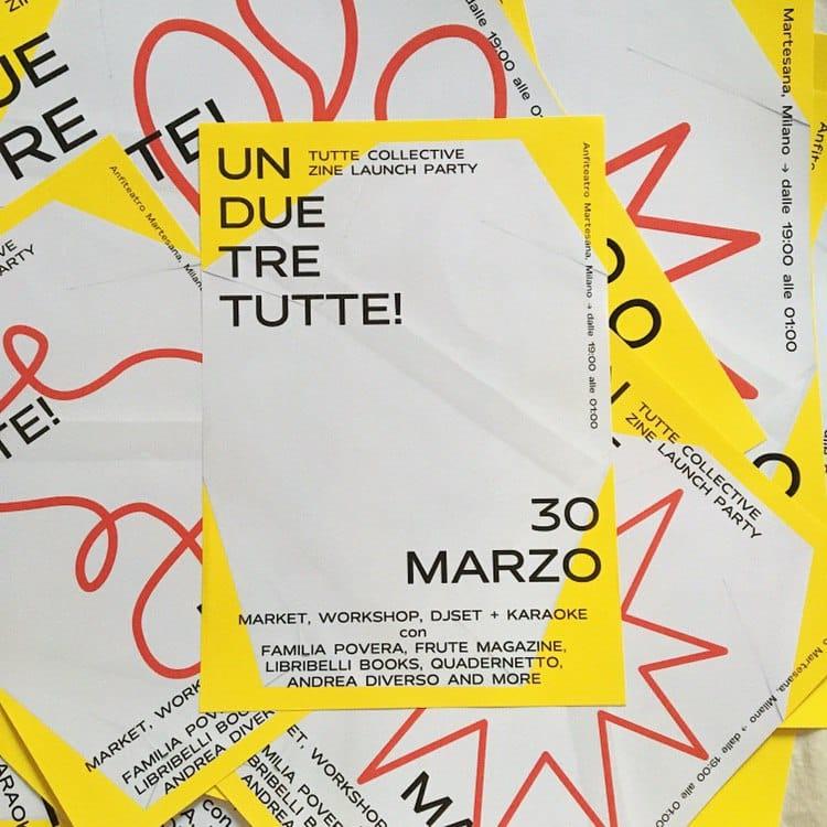 Festa in anfiteatro con TUTTE Collective