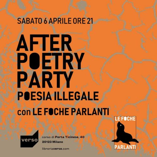 After Poetry Party con le Foche Parlanti