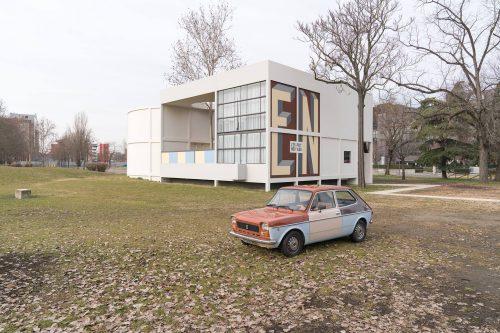 La Milano di Le Corbusier a bordo di una Fiat 127