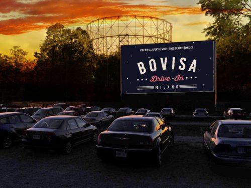Drive In per la prima volta a MIlano: festa di apertura in Bovisa