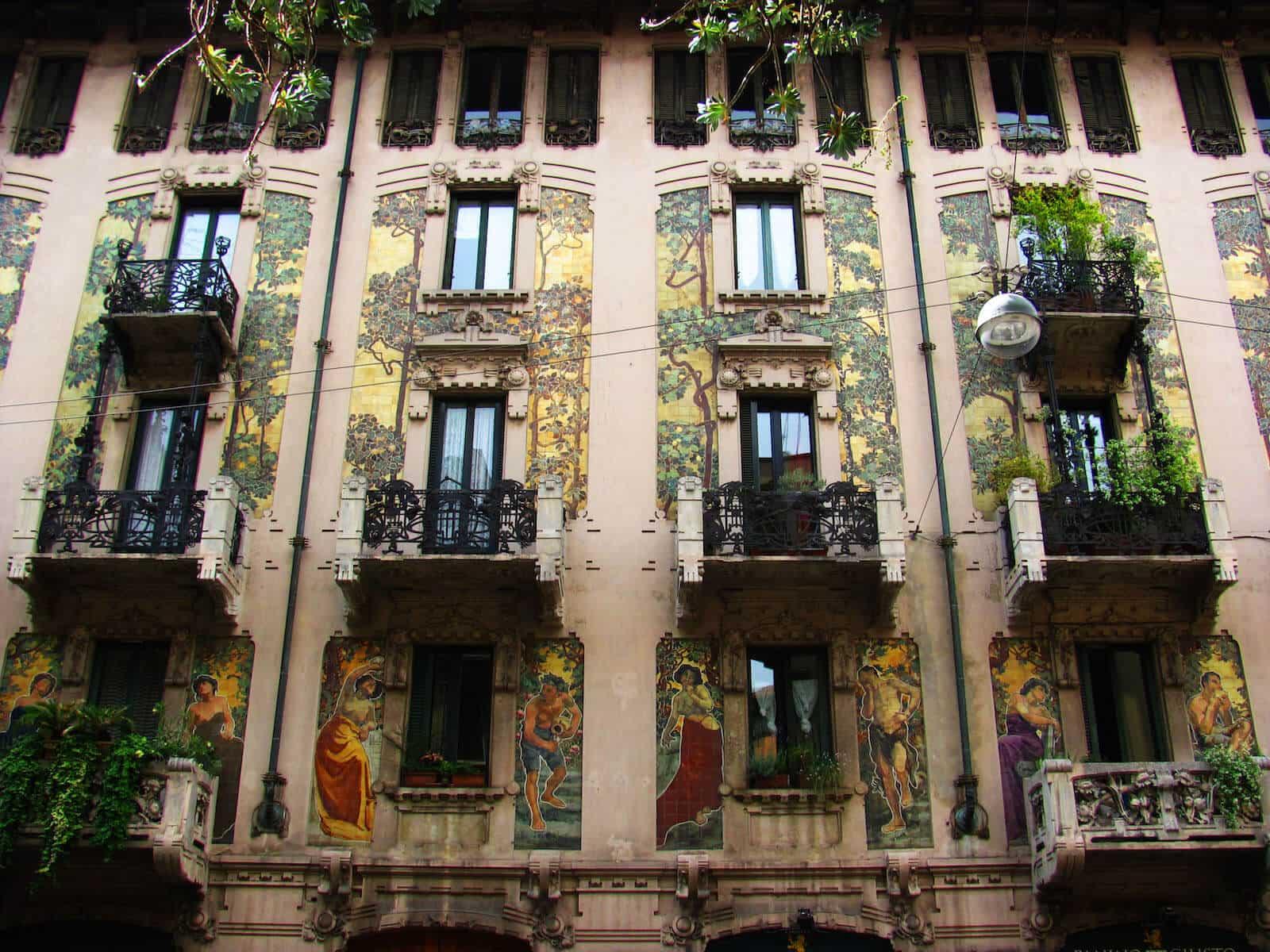 Liberty a Milano: itinerari e palazzi aperti nel weekend