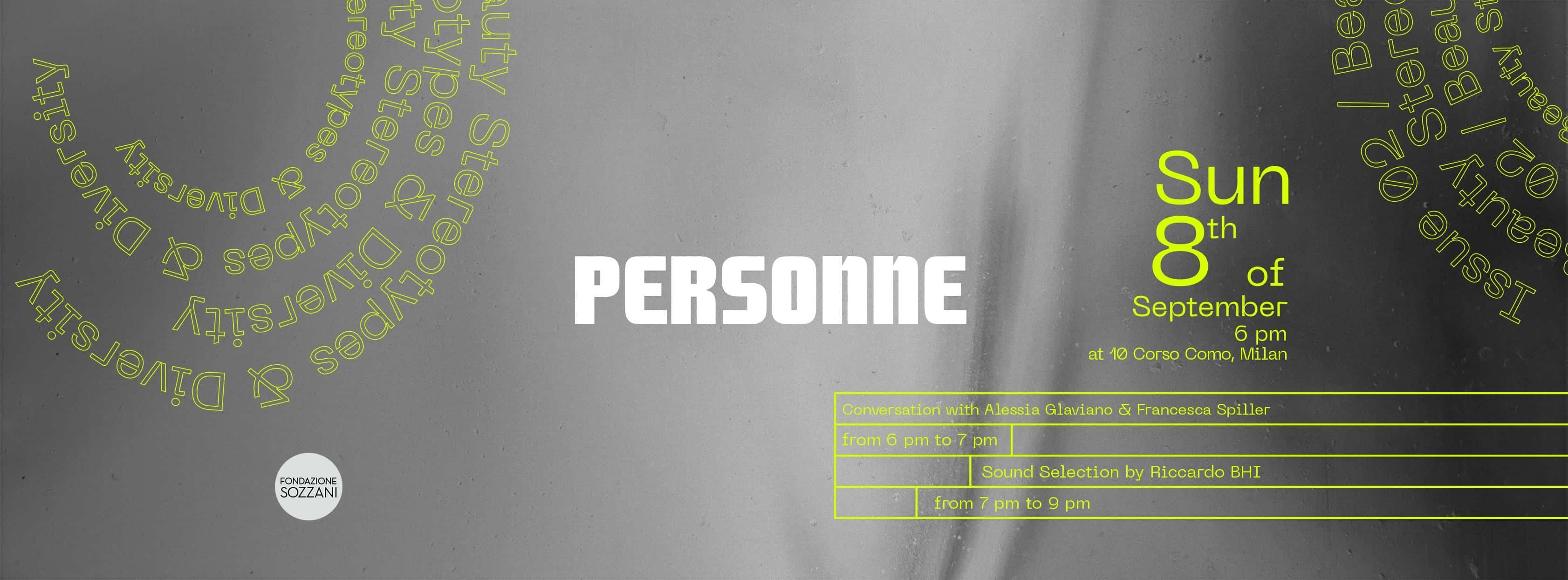 Personne: lancio del magazine con dj set in Corso Como 10