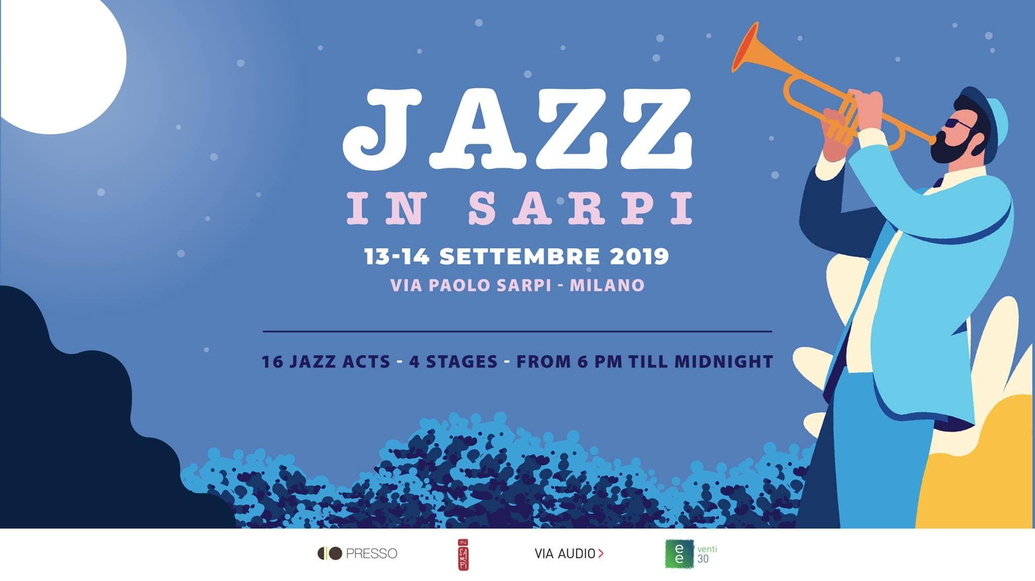 Jazz in Sarpi: concerti diffusi e gratuiti per tutto il weekend