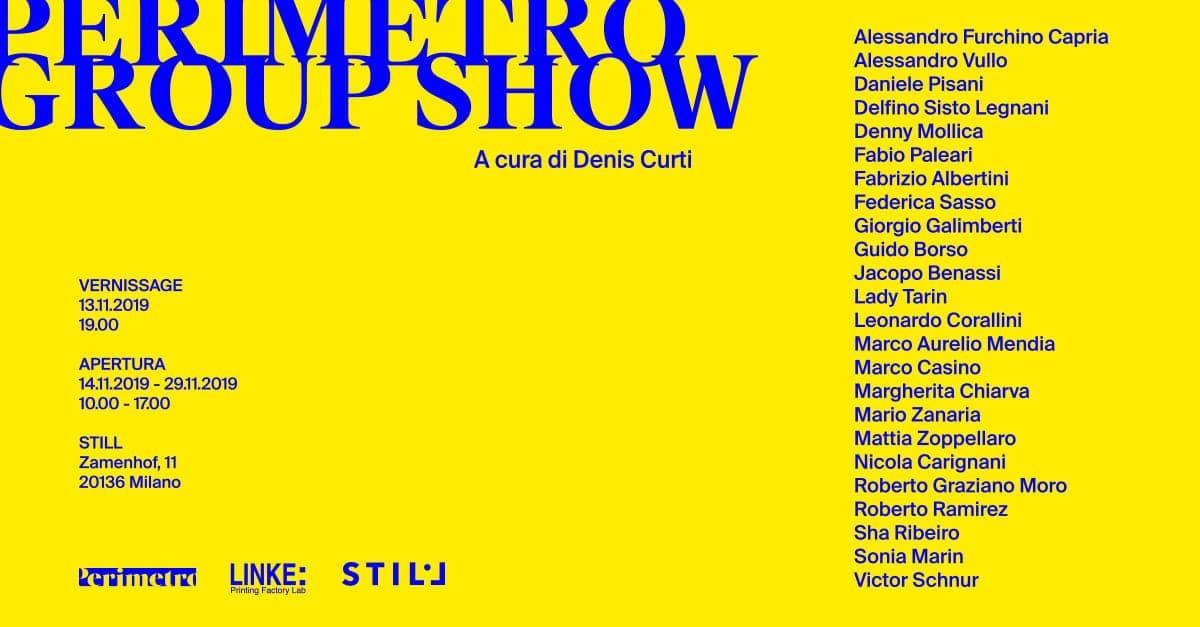 Perimetro Group Show: opening della prima collettiva