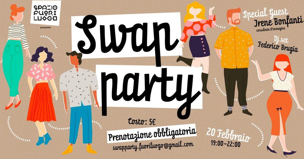 swap party sui Navigli a MIlano il 20 febbraio